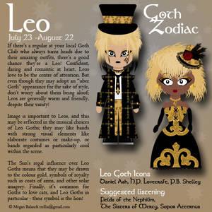 Goth Zodiac: Leo