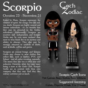 Goth Zodiac: Scorpio