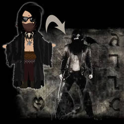 Commission: Noah Veil Character Design