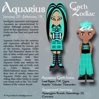 Goth Zodiac: Aquarius