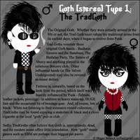 Goth Type 1: The Trad Goth by Trellia