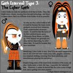Goth Type 3: The Cyber Goth