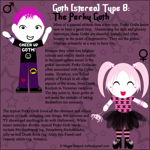 Goth Type 8: The Perky Goth