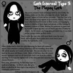 Goth Type 9: The Mopey Goth
