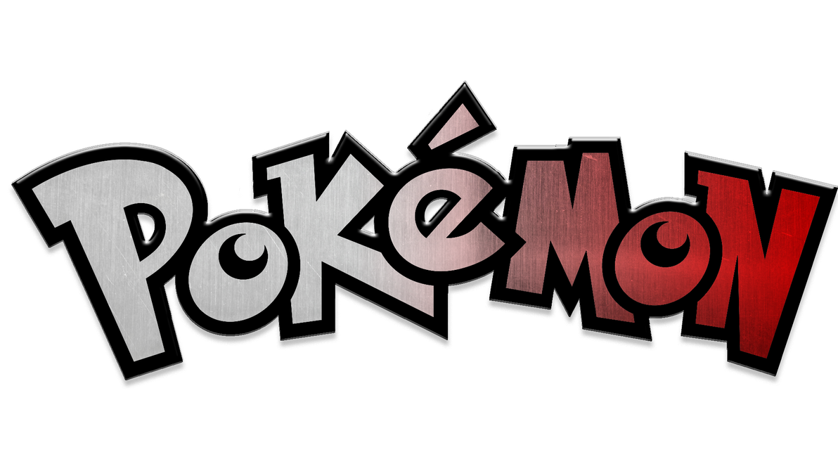 Pokemon Logo Metallic 531457780