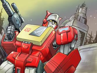 Blaster by sishamon10
