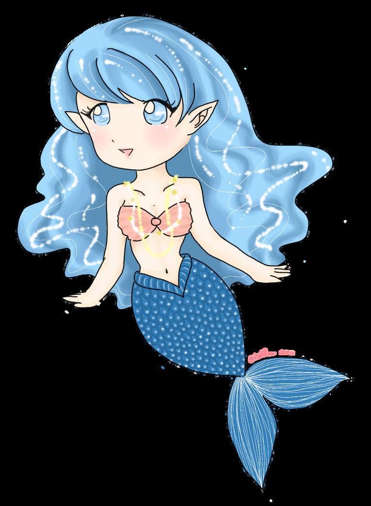Chibi Mermaid By CielCiella On DeviantArt