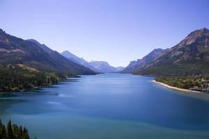 Waterton Lake View by Erzsabet