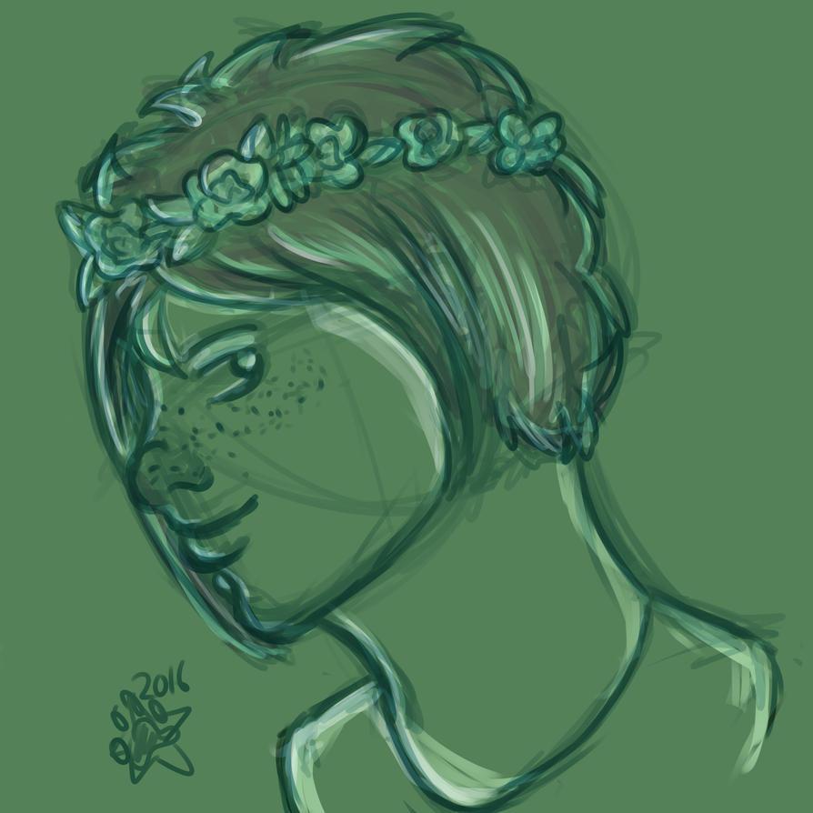 Flower Crown by starrypawz