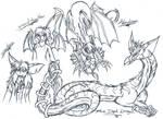 Fire Dark Dragon and Abadoon 2