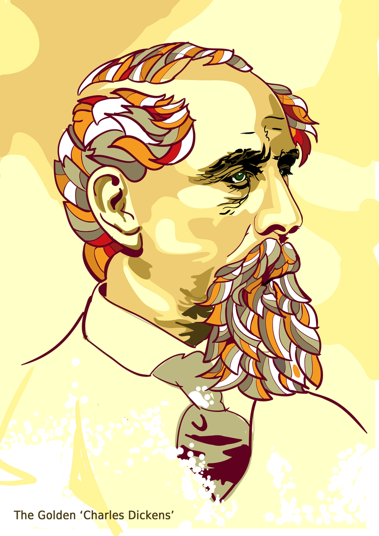 The Golden Dickens by ~rvivek