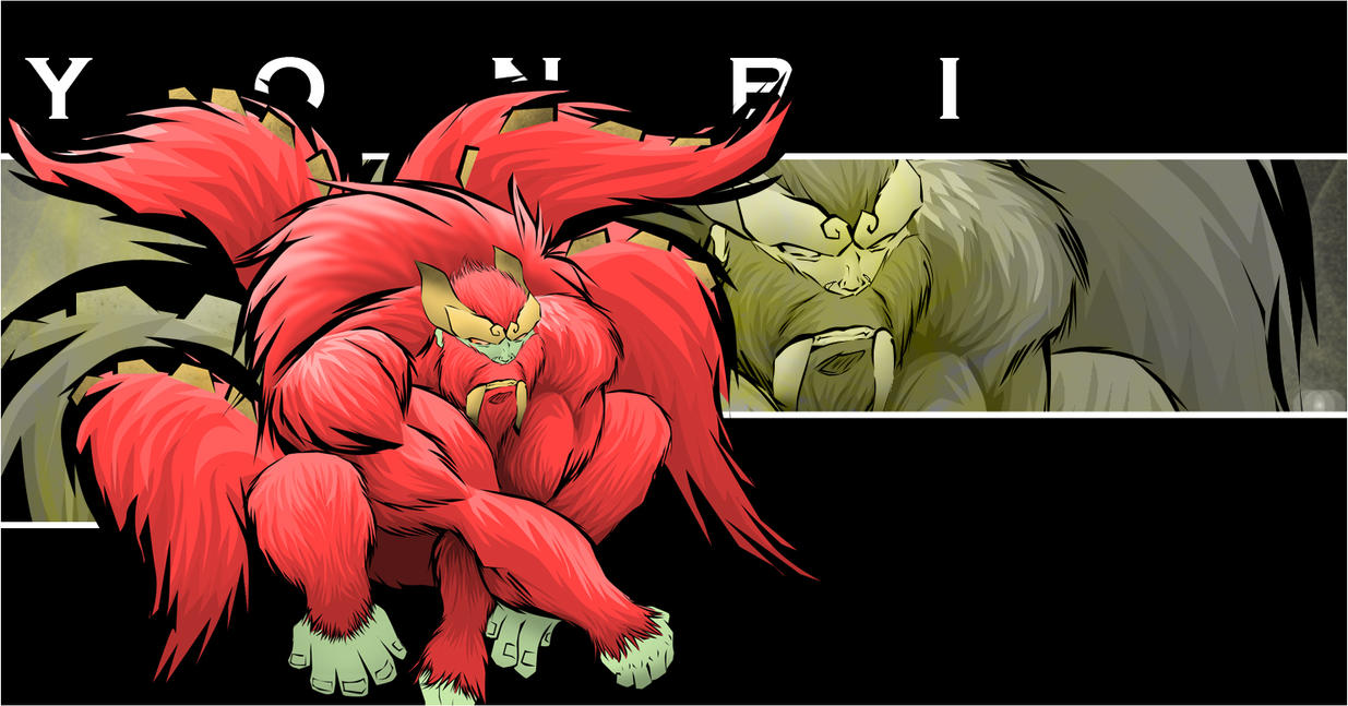 4 Tailed Beast by genryusai on DeviantArt