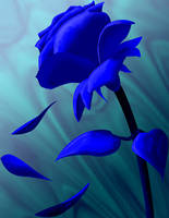 Blue Rose by genryusai