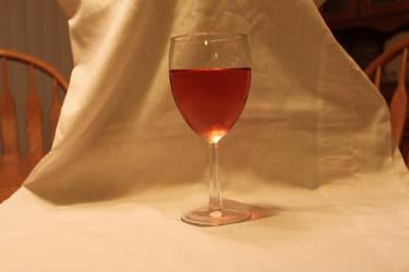 Wine Glass 5 by Hjoranna