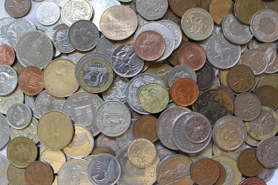 Random Coins 3 by Hjoranna
