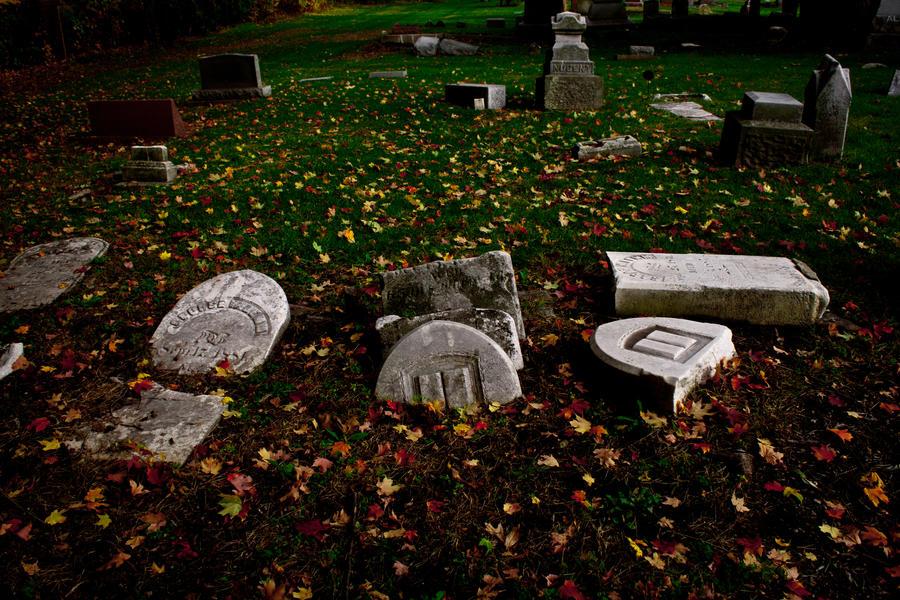 Graves 6 by Hjoranna