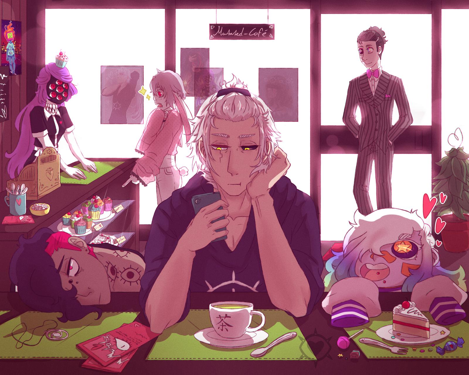 Mutated Cafe by MutatedEye