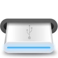 USB removable disk icon by danielrangel