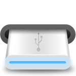 USB removable disk icon