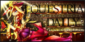 Equestria Daily Banner : Classy