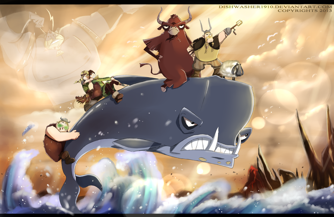 An Epic Adventure by dishwasher1910