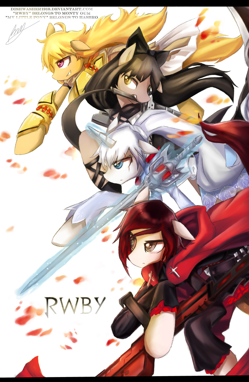 RWBY-MLP Edition by dishwasher1910