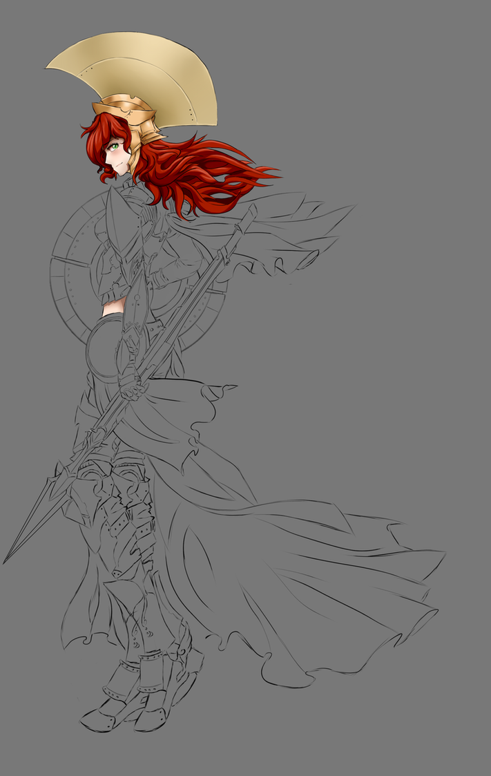 Guess who ? (WIP) by dishwasher1910