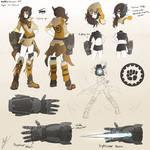 RWBY Concepts : OC - Siy