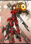 RWBYxHalo: Ruby - SPARTAN armour
