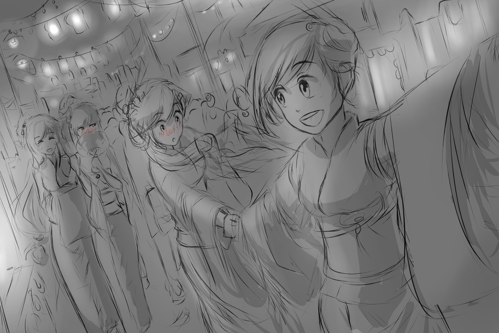 RWBY Festival (WIP) by dishwasher1910