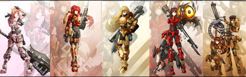 Halo x RWBY : Wave 1- completed