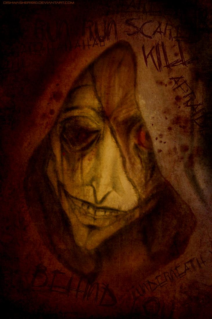 Horror doodle . by dishwasher1910