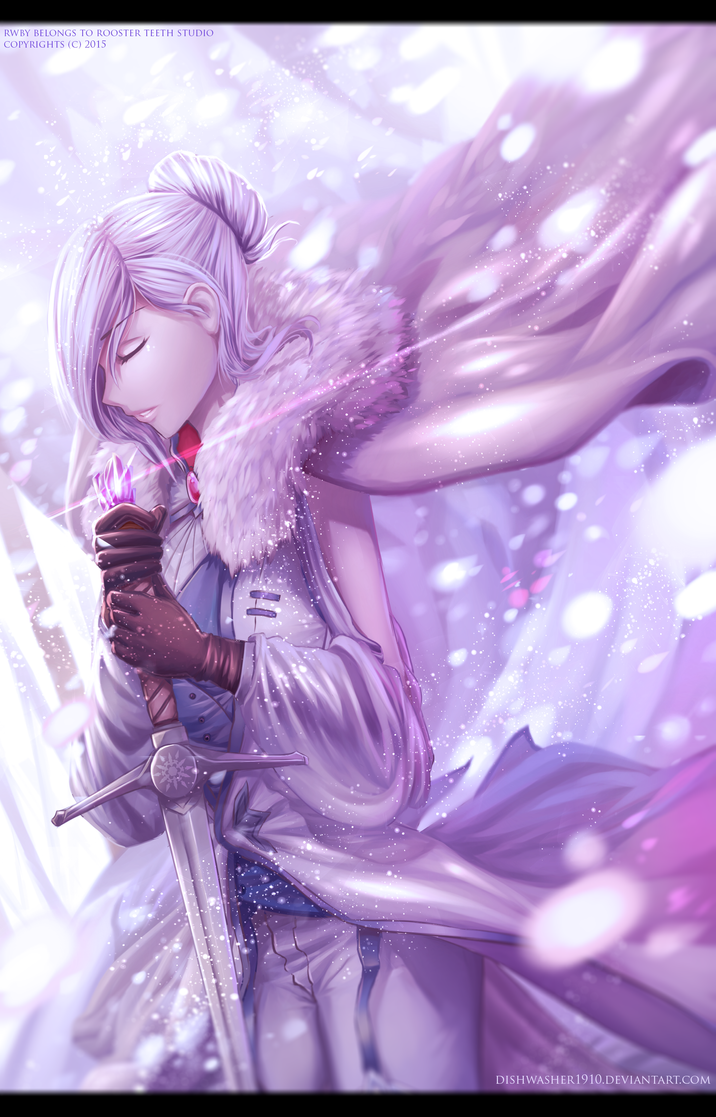 RWBY- Winter Schnee by dishwasher1910