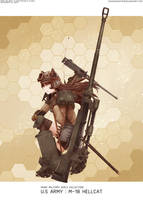 RWBY-Military girl collection : M-18 Hellcat