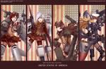 RWBY-Military girl collection : Team RWBY