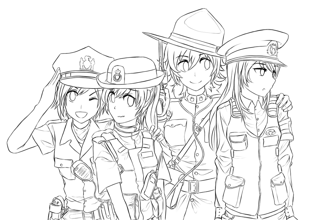 RWBY - World police (WIP) by dishwasher1910