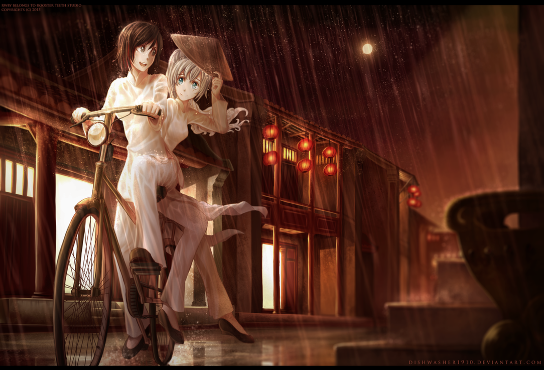 RWBY : Silent streets by dishwasher1910