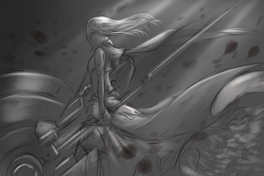 Ruby Rose - Future , v.2 ( WIP) by dishwasher1910