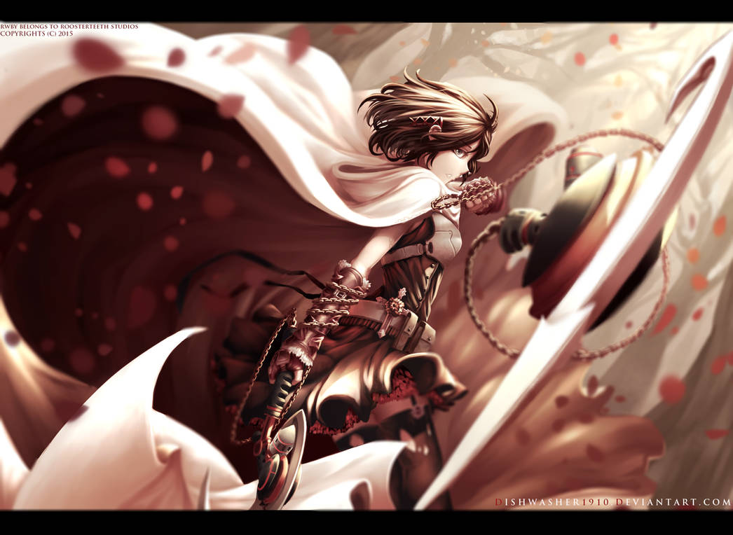 RWBY : Summer Rose by dishwasher1910