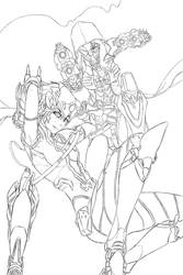 RWBY x Overwatch WIP by dishwasher1910