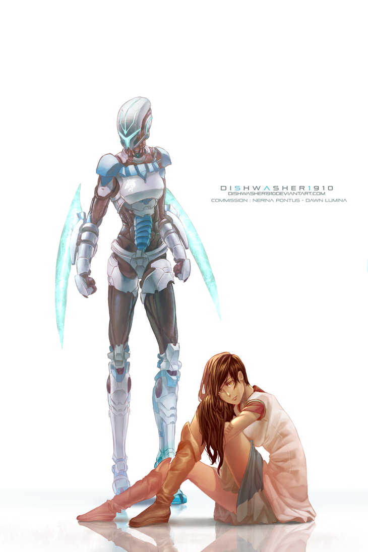 Commision : Dawn and Nerina by dishwasher1910