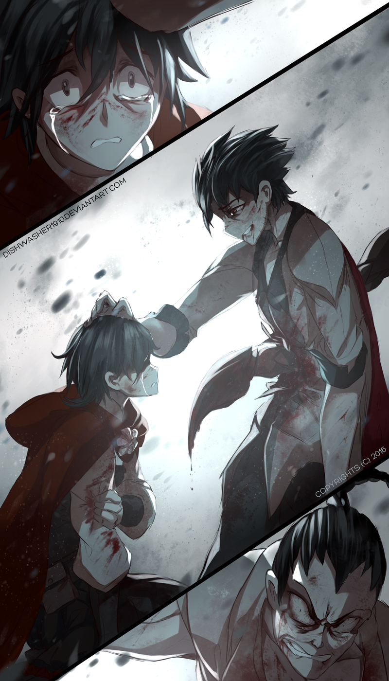 RWBY Doodle : Light at the end by dishwasher1910