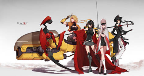 RWBY 3.0 by dishwasher1910