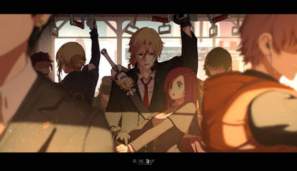 Morning commute by dishwasher1910