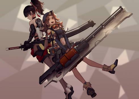 Combat girl