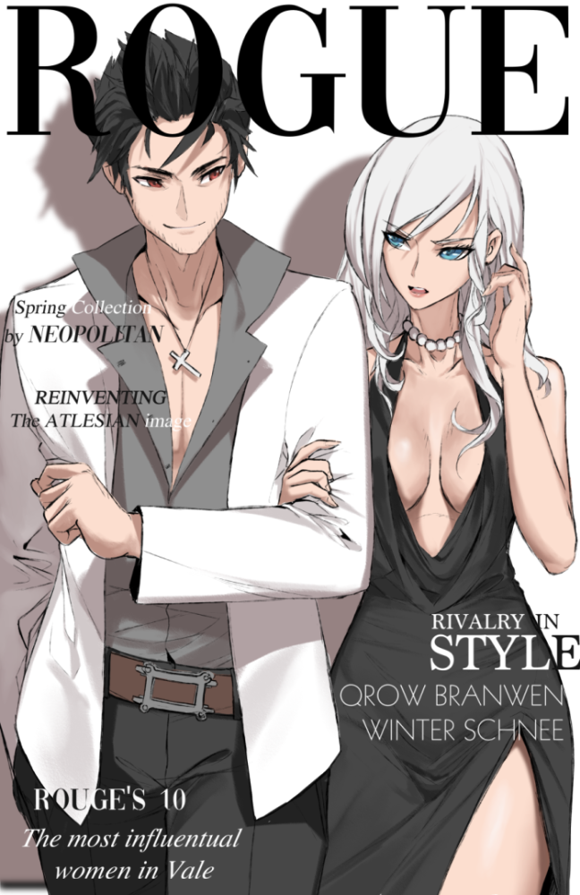 Fashionable Rivals by dishwasher1910