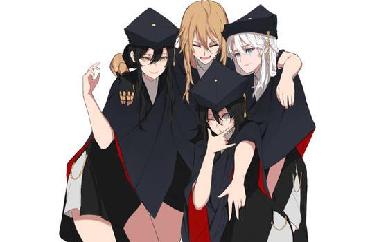 Graduation robes - RWBY 3.0
