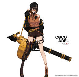 RWBY 3.0 : Coco by dishwasher1910