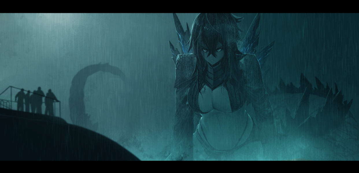 Queen of monsters by dishwasher1910