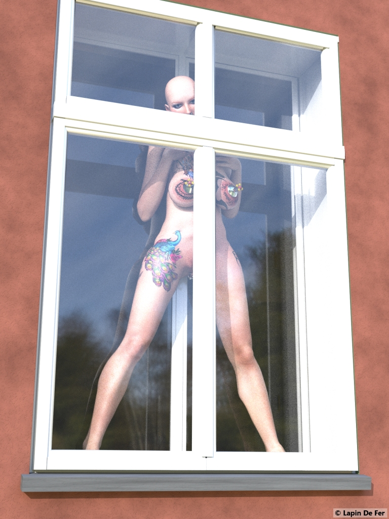 Window Time by LapinDeFer